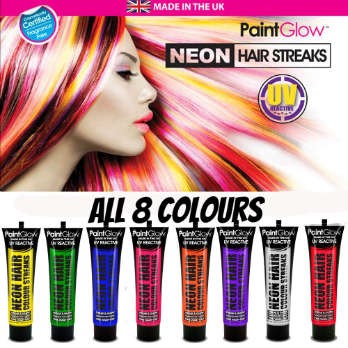 UV Neon Hair Streaks - VALUE PACK